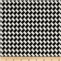 Marni Scuba Knit Houndstooth Black/White