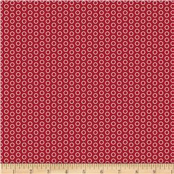 Riley Blake Speedster Sporty Dots Red Fabric