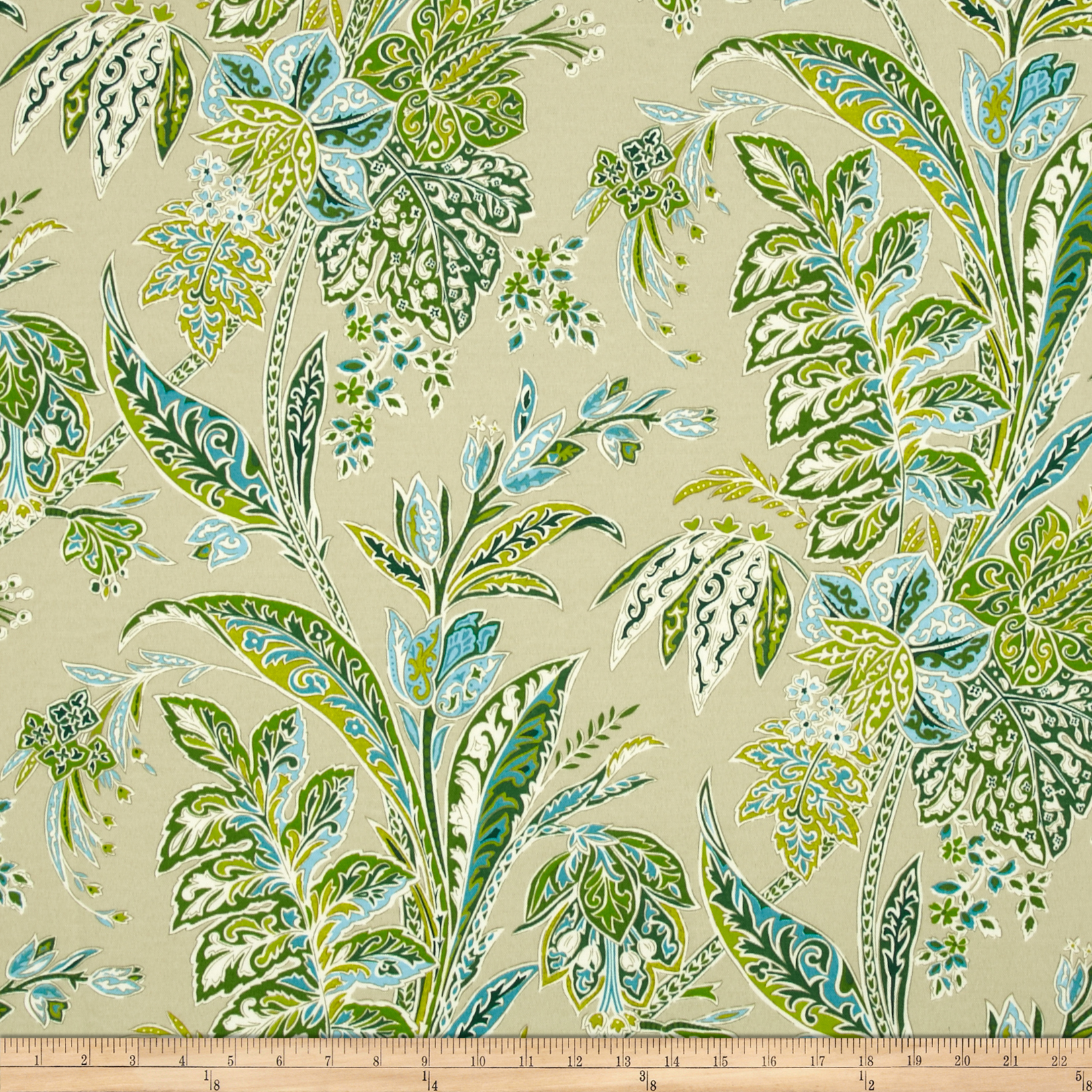 Tommy Bahama Indoor/Outdoor Cayo Vista Jungle Fabric by Waverly in USA