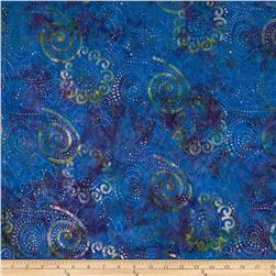 Bali Batik Handpaints Spirals Brooke Fabric