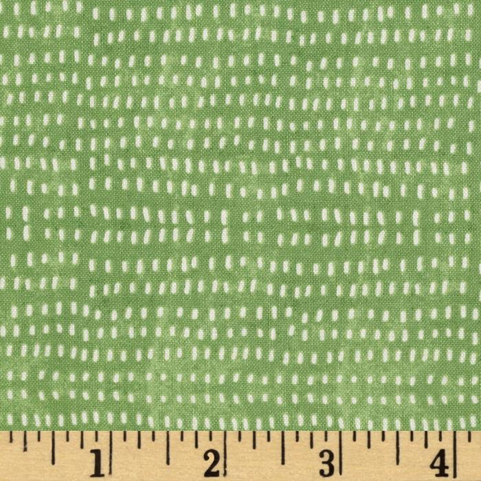 Merry Stitches Tiny Seeds Green