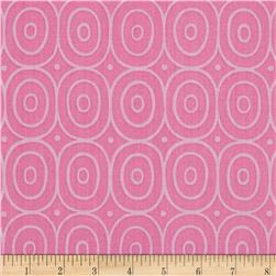 Sweet Lady Jane Circle Dance Rose Fabric