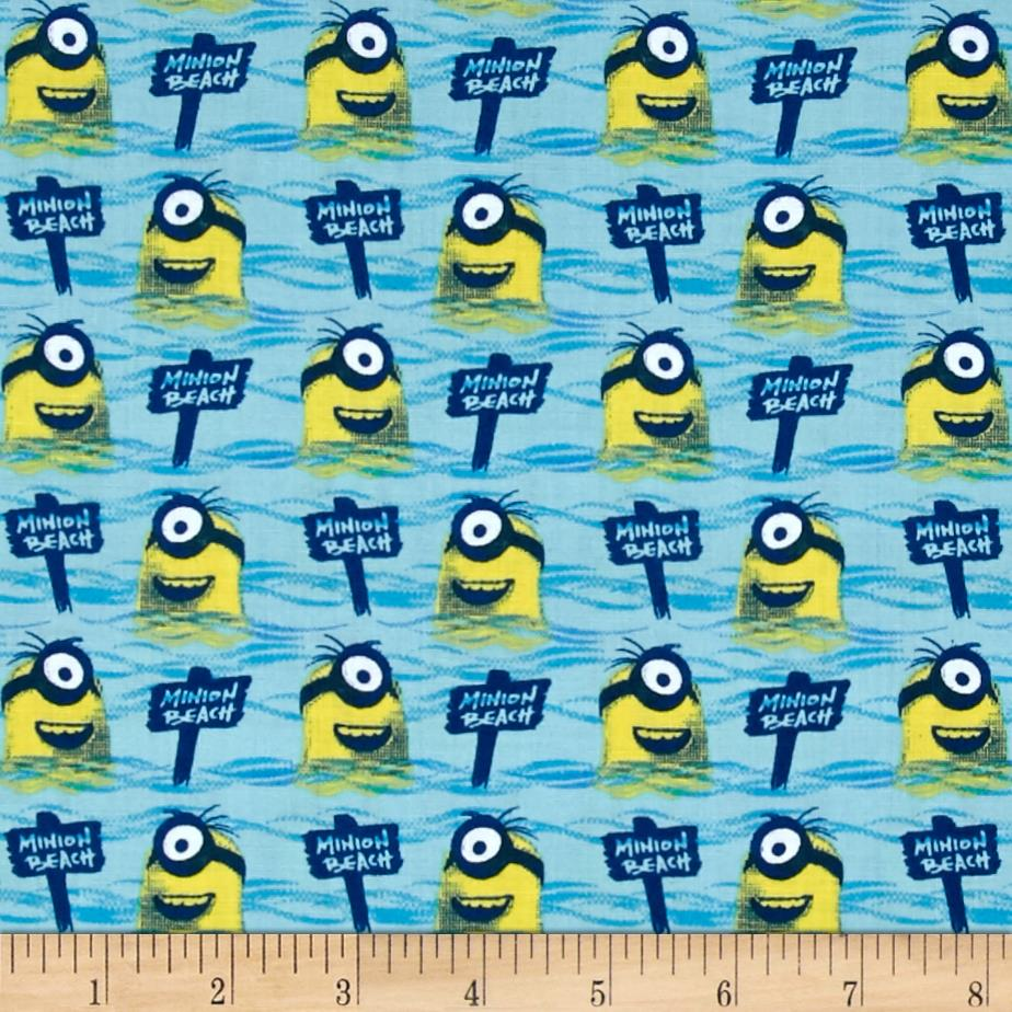 Minions All Natural Minion Beach Blue