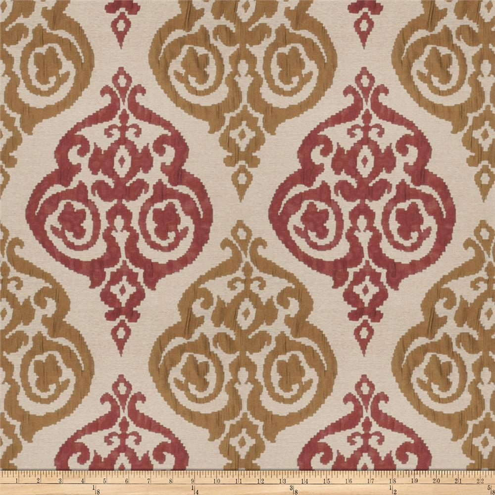 Trend 03155 Textured Jacquard Red Bronze