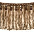 "Fabricut 9"" Mountain Resort Bullion Fringe Vineyard"