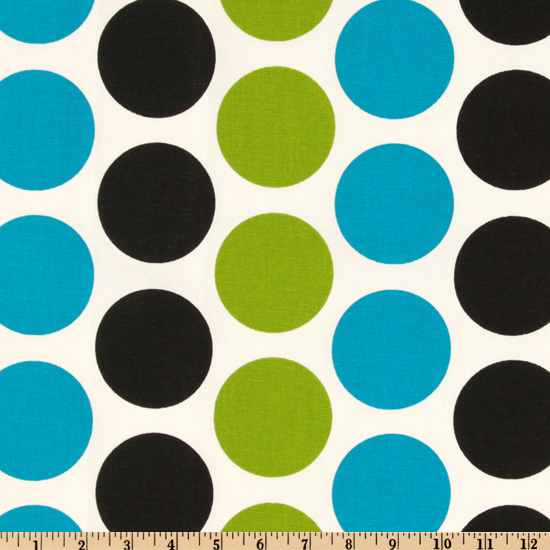 Premier Prints Fancy Dot Wild Fabric