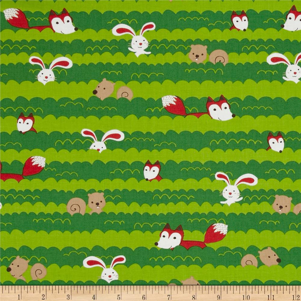 Forest Playground Animal Stripe Natural