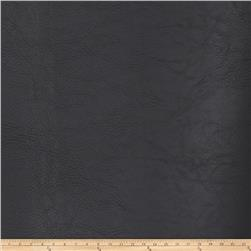 Fabricut Koala Faux Leather Onyx