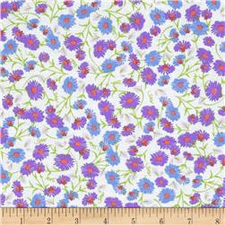 Fun Florals Periwinkle