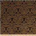 Minky Cuddle Classic Damask Brown/Cappuccino