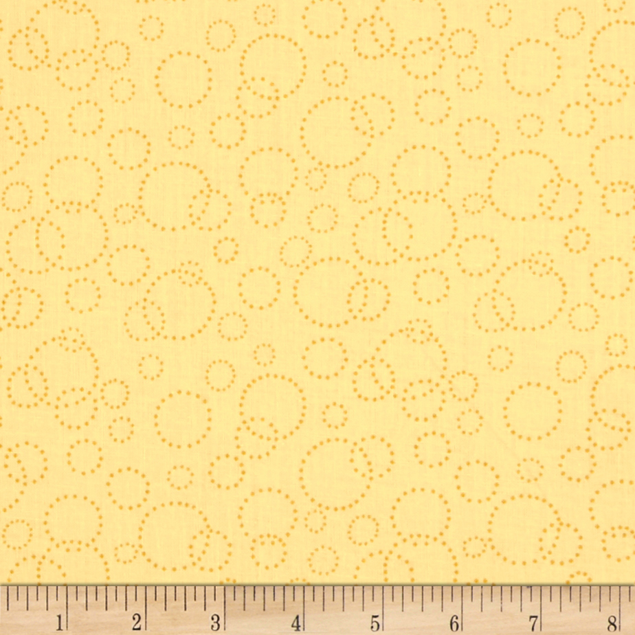 110'' Wide Quilt Back Champagne Yellow Fabric by Westrade in USA