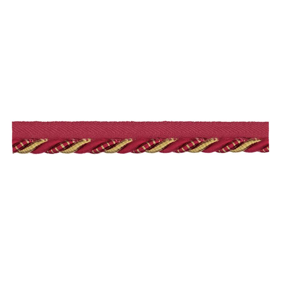 Jaclyn Smith 01871 Cord Trim Red