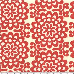 Amy Butler Lotus Wall Flower Cherry Fabric