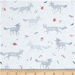 Dear Stella Pine Grove Dotted Foxes White