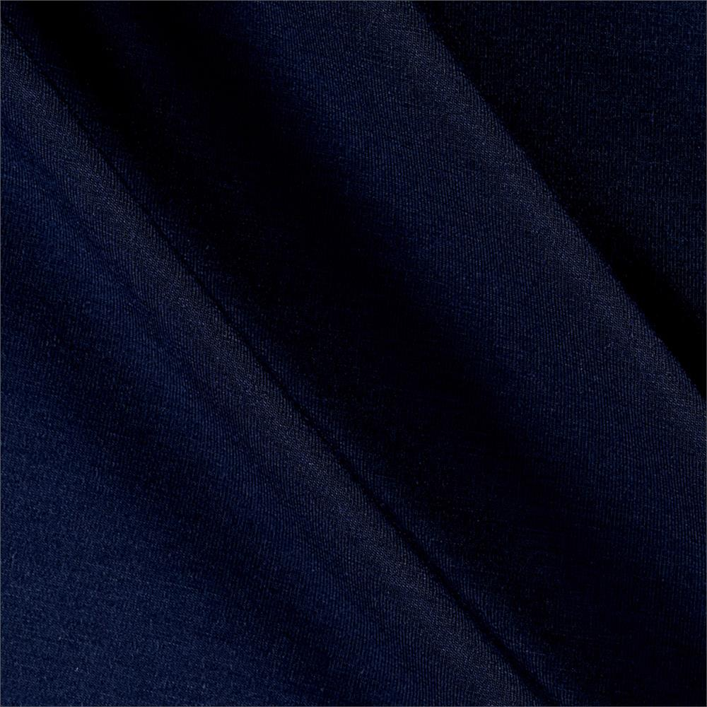 Telio Rayon Jersey Knit Navy Fabric By The Yard
