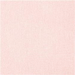 Cotton Baby Rib Knit Pale Pink