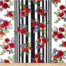 Poppy Panache Stripe Black/Multi