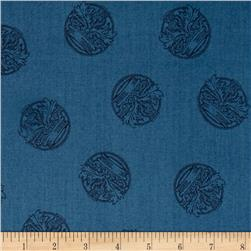 Outlander Thistle Crest Blue