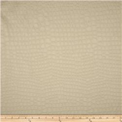 Golding Crocodile Flannel Back Satin Pearl