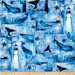 Follow The Light Lighthouse & Whales Multi