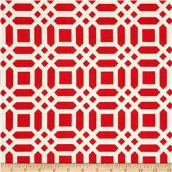 Riley Blake Home Decor Vivid Lattice Red