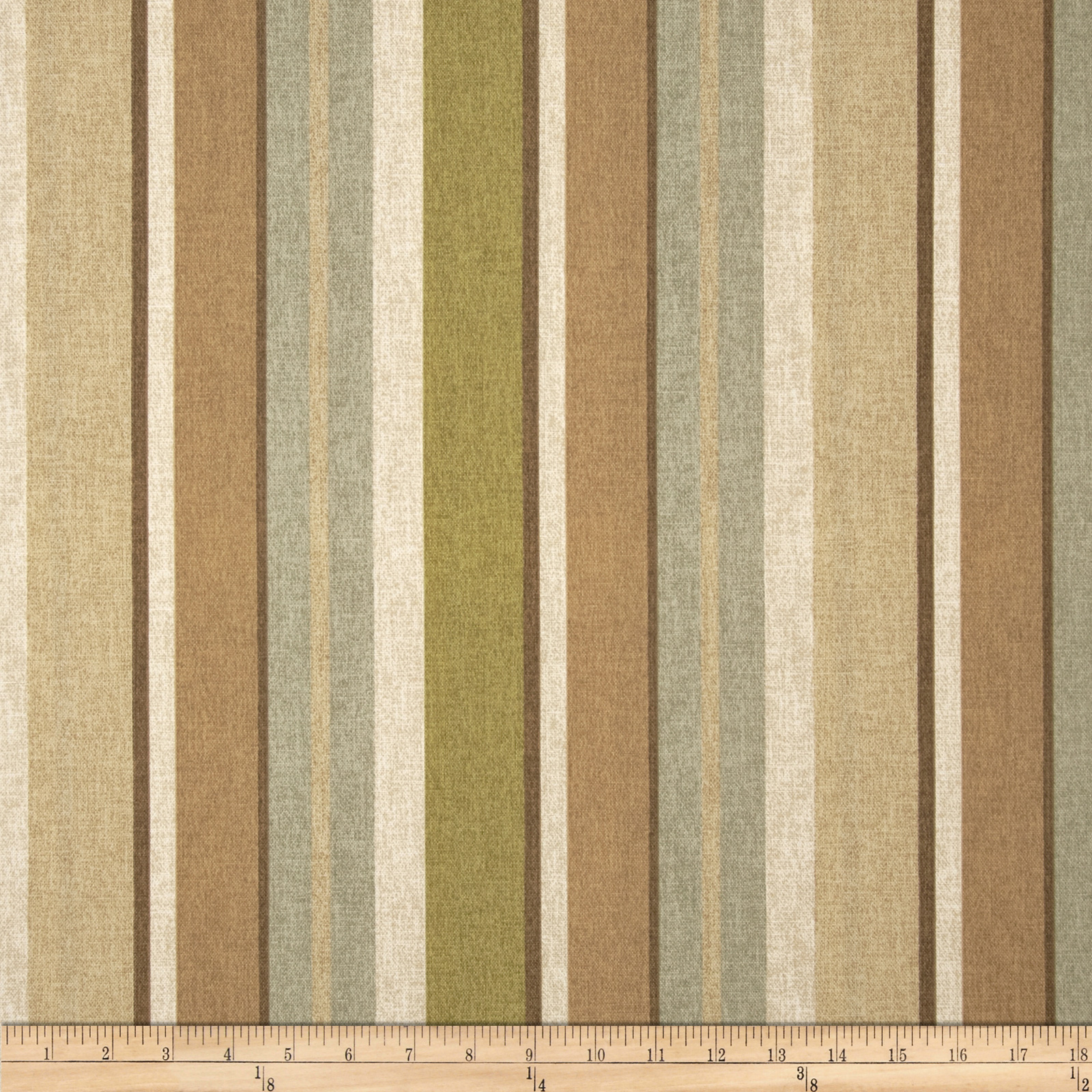 Maco Indoor/Outdoor Shetland Stripe Hazel Fabric
