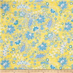 Dena Designs Sunshine Linen Blend Bellflower Yellow