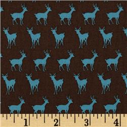 Moda Oh Deer! Tiny Deer Bark