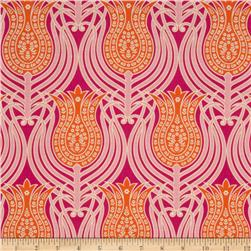 Joel Dewberry Notting Hill Tulips Tangerine Fabric