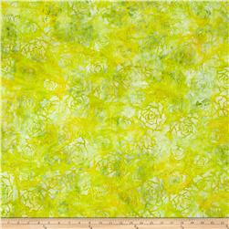 Wilmington Batiks Roses Yellow