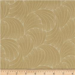 Downton Abbey Lady Edith Leaf Tonal Tan