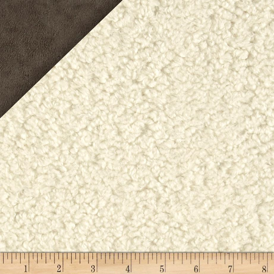 Faux Sheepskin Natural Fabric