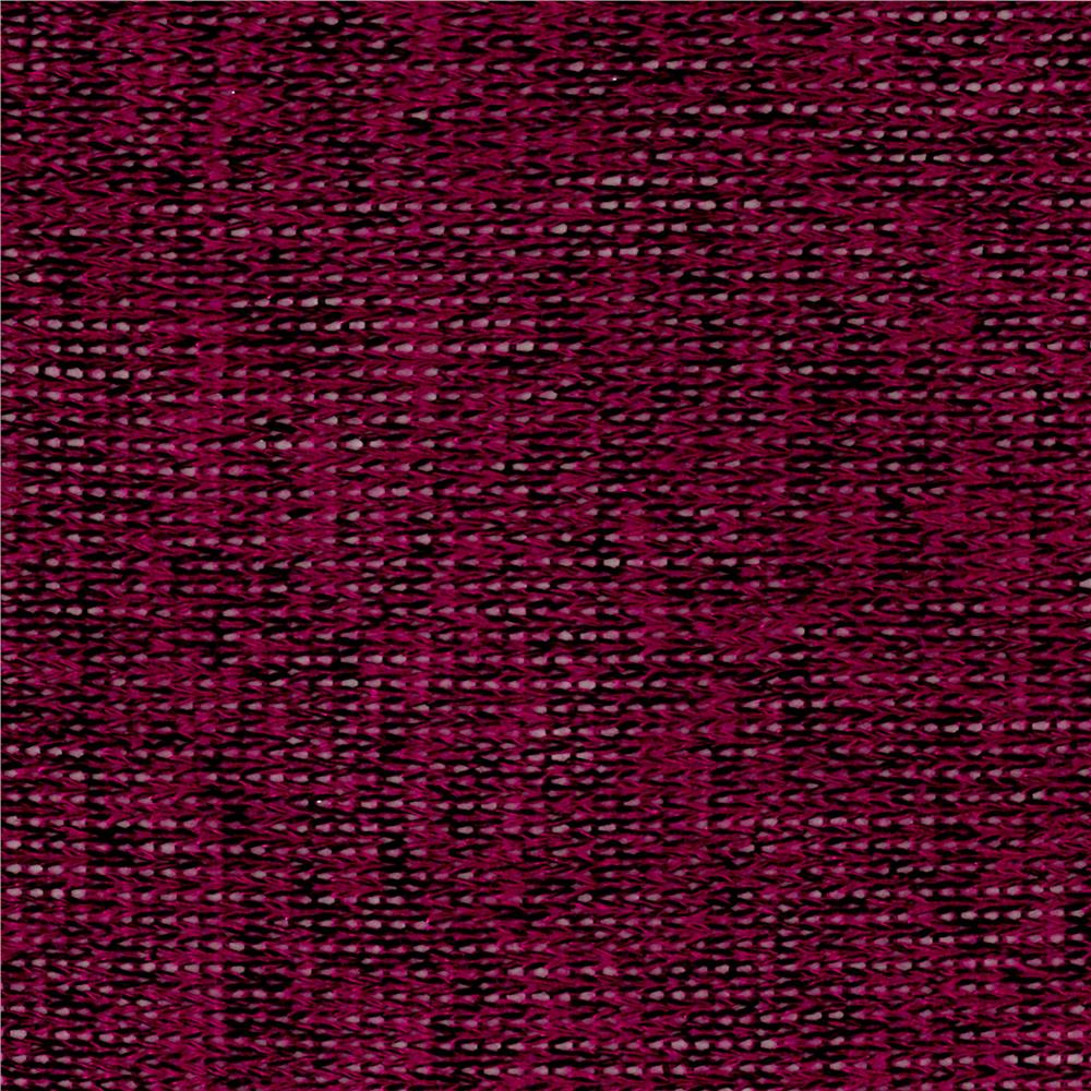 Lightweight Sweater Knit Solid Magenta