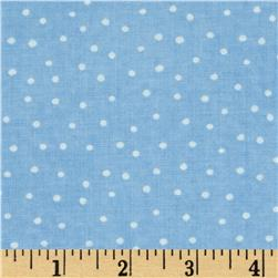 Up and Away Dinky Dots Blue