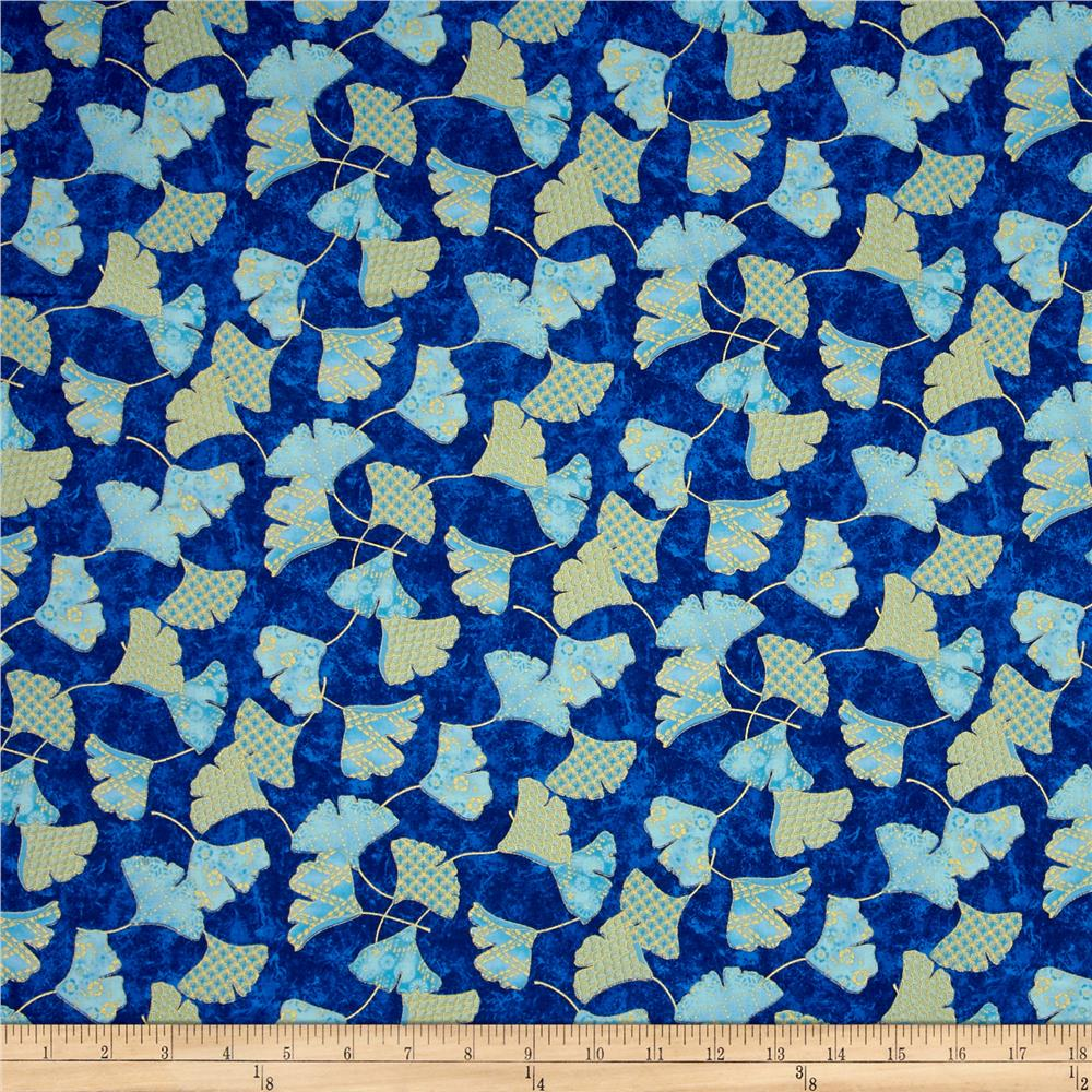 Flights Of Fancy Ginko Blue