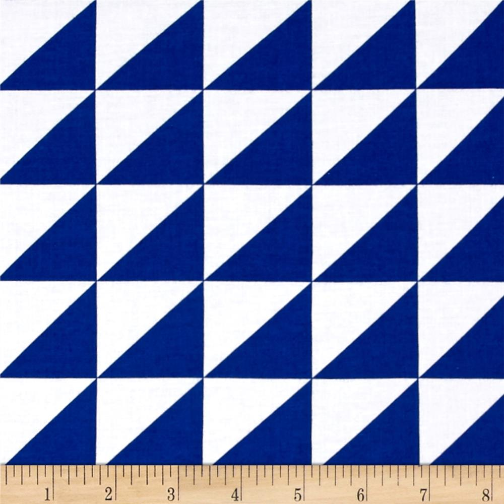 Riley Blake Sashing Stash Half-Square Triangles Blue