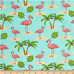 Pink Lady Flamingo Aqua
