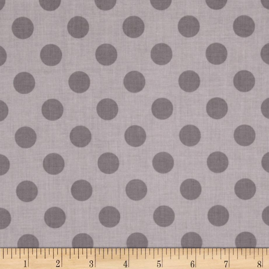 Riley Blake Medium Dots Tone on Tone Grey