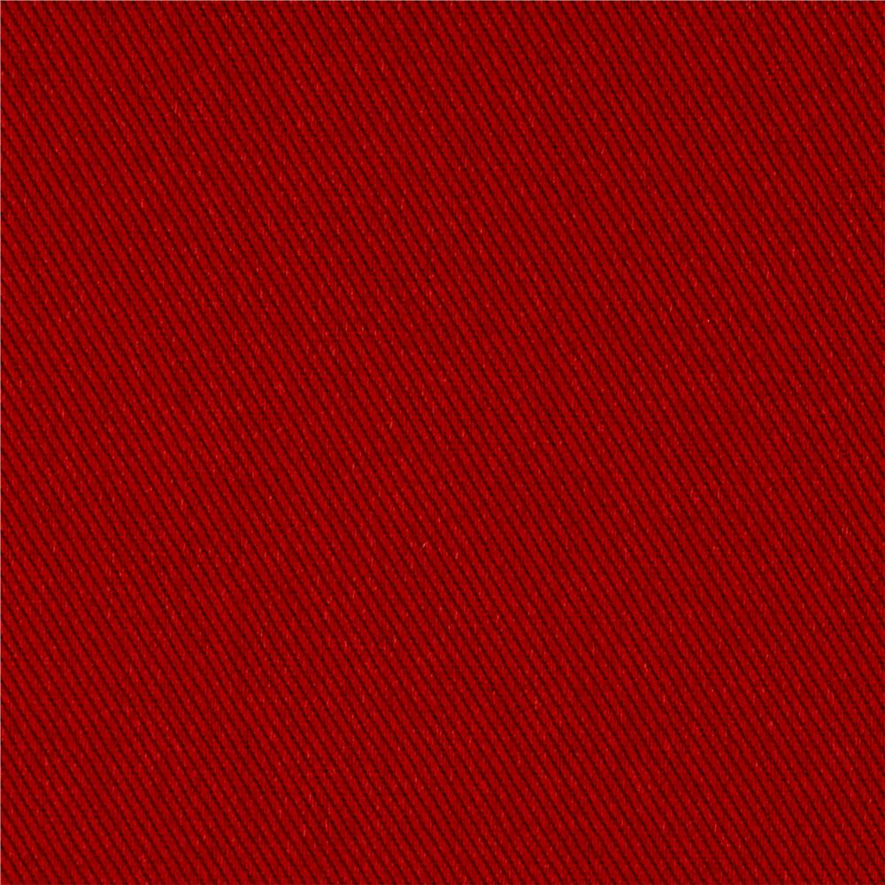 Kaufman Ventana Twill Solid Canyon Red