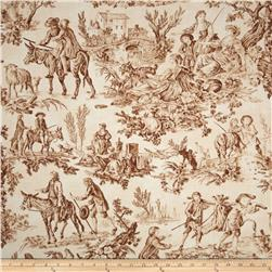Penny Rose Aesop's Fable Main Toile Brown