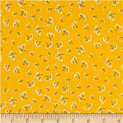 Riley Blake Fancy & Fabulous Breath Yellow