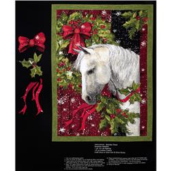 Holiday Treat Horse Wall Panel Multi