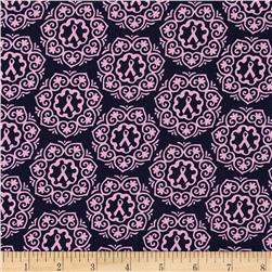 Project Pink Ribbon Medallions Purple/Pink