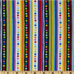 Peanuts-Project Linus Confettti Stripe Black/Multi