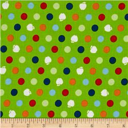 Apple Hill Farm Apple Dots Green