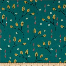Moda Valley Creosote Teal