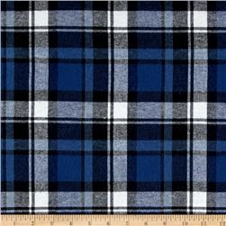 Yarn Dyed Flannel Plaid Denim