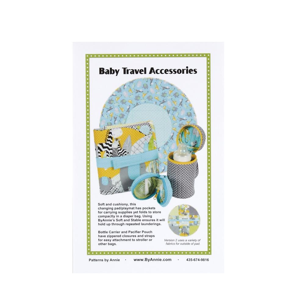 By Annie Baby Travel Accessories Pattern