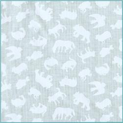 Brown Bear Brown Bear Animal Silhouettes White