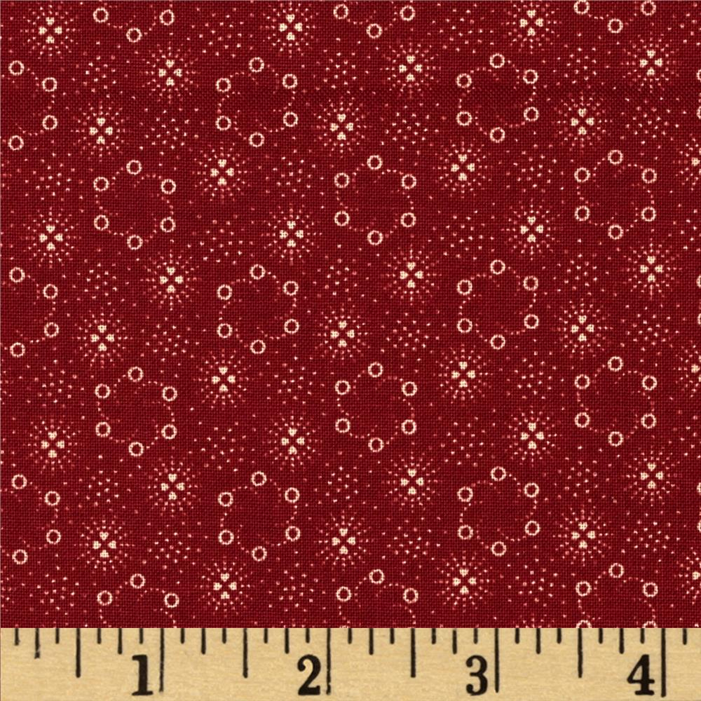 Penny Rose Americana Circles Red